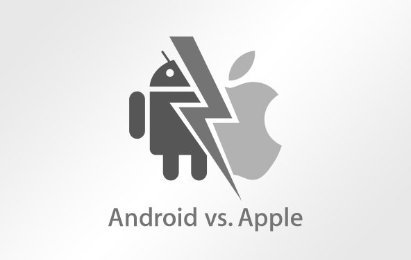 Apple vs. Android - Infografik