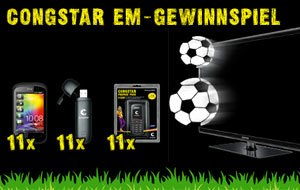 Congstar EM Gewinnspiel 2012!