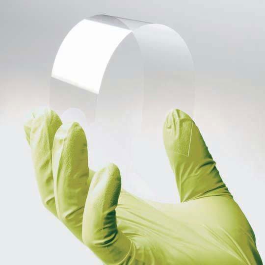 """Apple-Zulieferer Corning zeigt biegsames """"Willow Glass"""""""