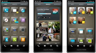 "Sharp stellt Android User Interface ""Feel"" vor"