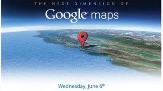 """Google kündigt """"The next Dimension of Google Maps"""" an"""