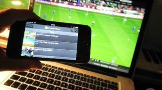 Fußball-Livestream des ZDF: Ansturm zwingt Technik in die Knie