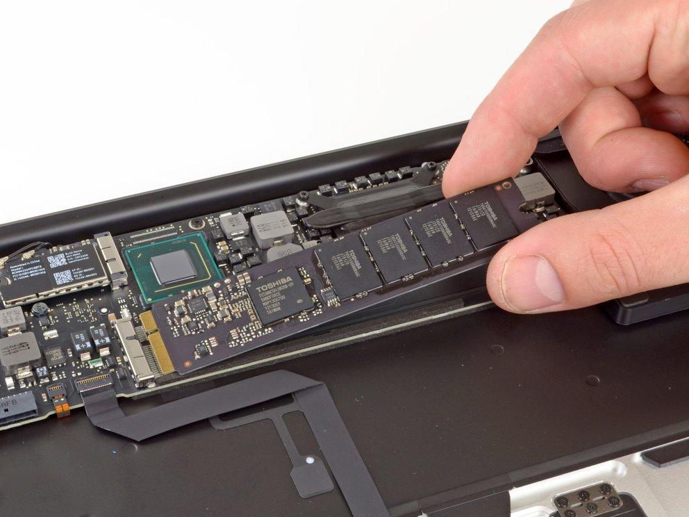 MacBook Air: Anschluss der SSD-Module hat sich verändert