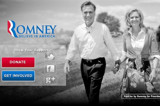 iAd: Mitt Romney schaltet Mobil-Werbung im US-Wahlkampf