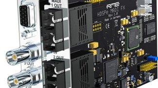390 Audio-Kanäle auf dem Mac: Thunderbolt-Audiolösung von RME & Sonnet