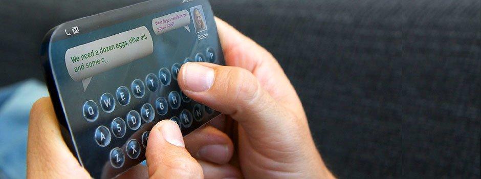 Zukunftsvision 2013: Touchscreen mit physischen Buttons von Tactus