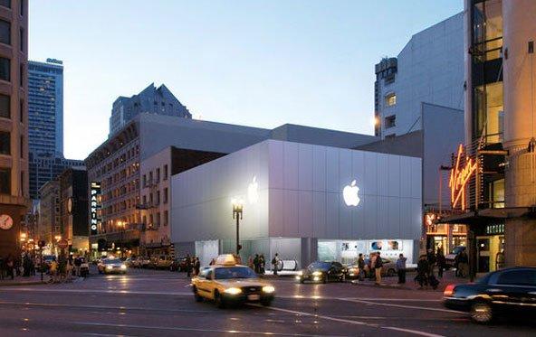 Apple Stores: Weiterhin viel Umsatz pro Quadratmeter