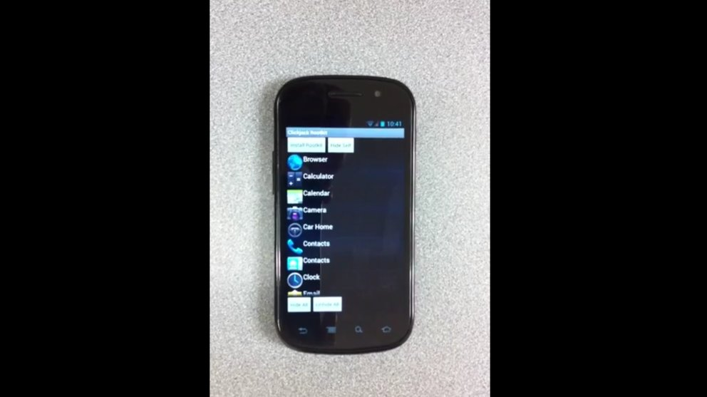 Clickjacking auf Android möglich - Video zeigt App