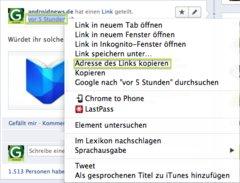 Facebook Link kopieren