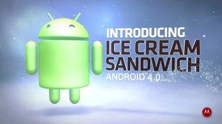 Motorola RAZR erhält endlich! das Update auf Ice Cream Sandwich