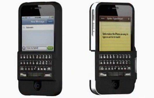 Hardware-Tastatur für iPhone: Kickstarter-Projekt Spike