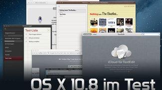 OS X 10.8 Mountain Lion im Test
