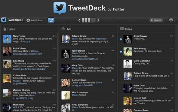 Tweetdeck 1.5: Update bringt Gestensteuerung und bessere Navigation