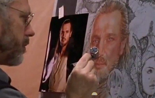 Trailer zur Doku über Drew Struzan - den Zeichner von Star Wars, Indiana Jones, Zurück in die Zukunft...