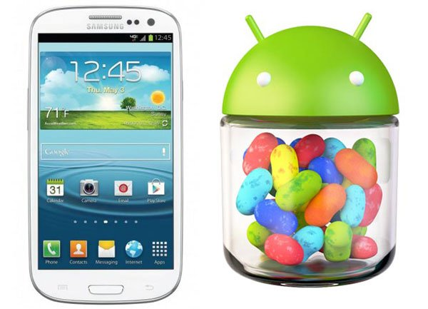 Jelly Bean Rollout für das Samsung Galaxy S3 geht weiter