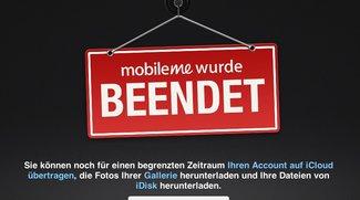 MobileMe: Apple zieht den Stecker - Daten-Backup weiterhin möglich