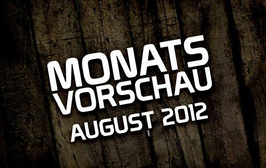 Die GIGA-Monatsvorschau: August 2012