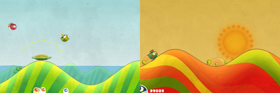 Tiny Wings 2 für iPhone/iPod touch