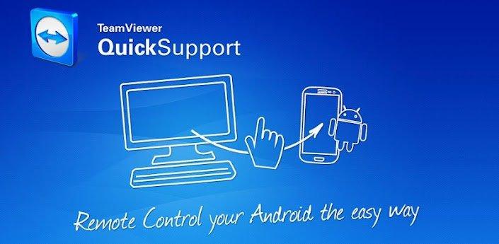 TeamViewer Quick Support – Deinen Androiden aus der Ferne steuern