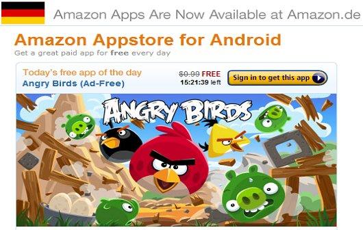 Amazon Appstore in Deutschland verfügbar