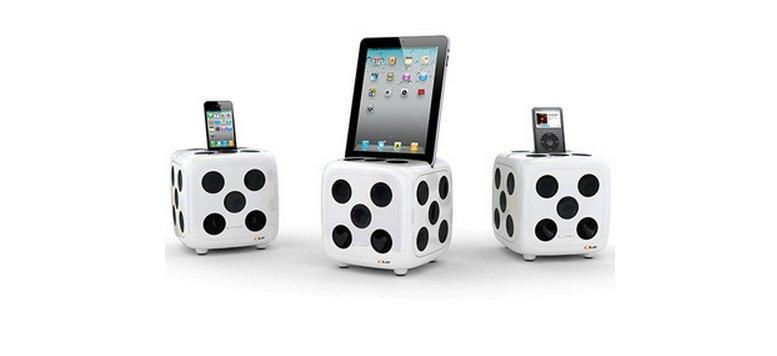 iDice Soundwürfel für iPhone, iPad und iPod für 99 Euro bei Fab