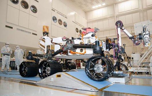 Apple und Curiosity: Zwei iMacs fliegen zum Mars