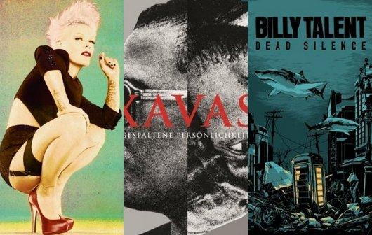 Musik-Vorschau September 2012: Seeed, Billy Talent, Pink, Xavas, Muse...