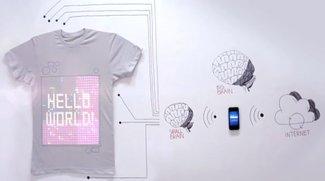Tragbare Elektronik: tshirtOS mit iPhone-Steuerung