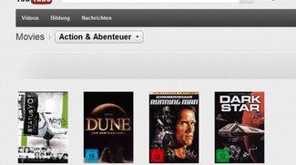 YouTube schaltet Movies frei - kommt bald Google Play Movies zu uns?