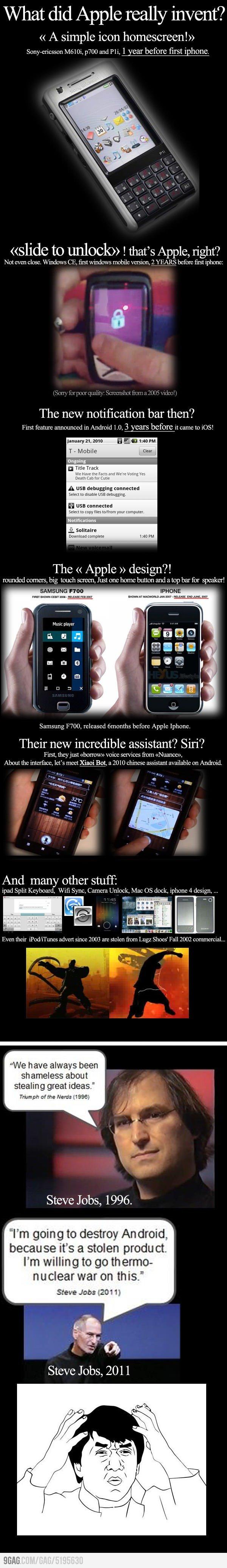Apples-Erfindungen