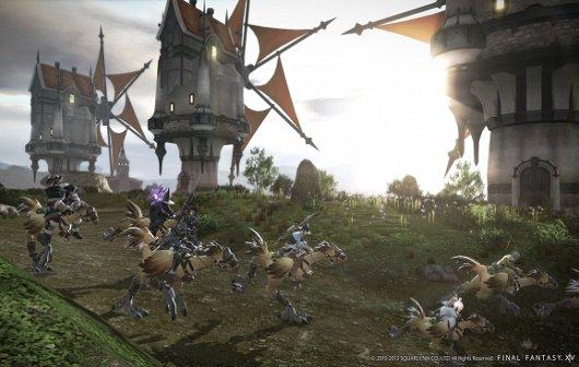 Final Fantasy 14: Weiteres Alpha-Gameplay Video veröffentlicht