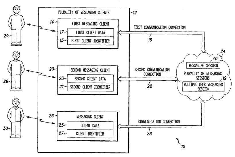 Motorola Messaging Patent