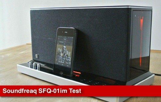 Soundfreaq SFQ-01: iPhone-Audiodock im Test