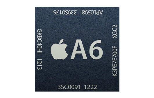 Apple A6 im iPhone 5: Zweikern-CPU und Dreikern-Grafikchip