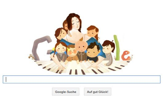 Clara Schumann: Doodle für die unterschätzte Komponistin - mit MP3-Downloads und Noten