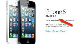 Das iPhone wird teurer