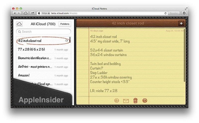 """iCloud: Neue Notiz- und Erinnerungs-App und """"Verloren""""-Modus für iOS-6-Geräte"""