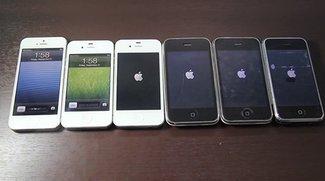 Video of the Day: Alle iPhone-Generationen im Vergleich