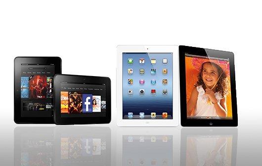 Amazon Kindle Fire HD vs. iPad 3: Game Changer oder Rohrkrepierer?