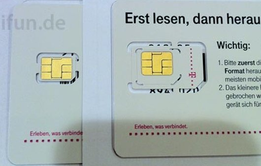 iPhone 5: Telekom verteilt Nano-SIM