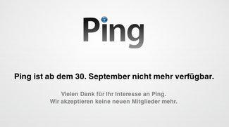 Ping: Apple stellt den Dienst am 30. September ein