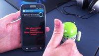 Samsung: System Reset via Webseite oder per NFC/QR-Code möglich