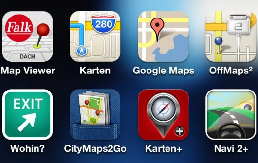 iPhone-Apps: Google Maps, Karten+, Wohin? und andere Routenplaner