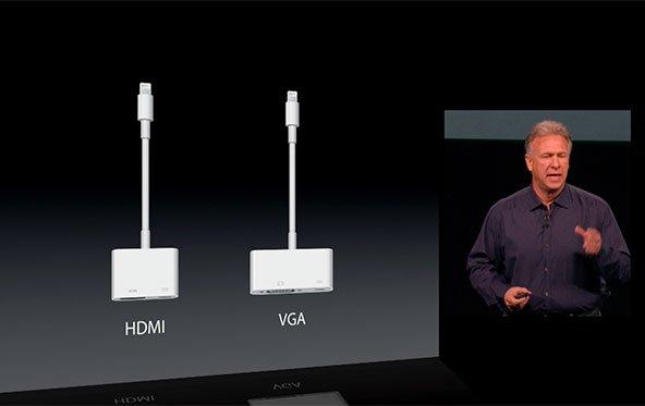 Lightning-Adapter für HDMI und VGA jetzt bestellen