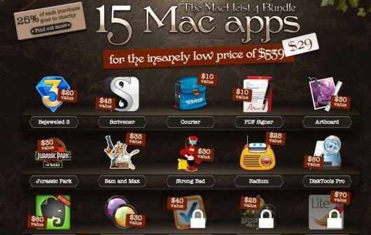 Software-Rabatte heute: iTunes (App Store) und MacHeist-4-Bundle