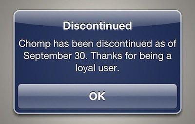 Abschied: Apple hat App-Suchmaschine Chomp eingestellt