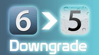 Anleitung: Downgrade von iOS 6 auf iOS 5.x