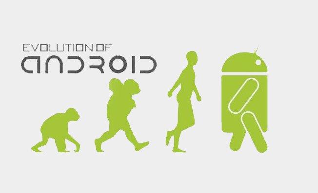 Infografik: Die Entwicklung von Android
