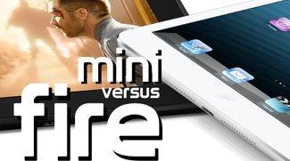 iPad mini vs. Amazon Kindle Fire HD: Vergleich