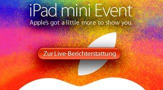 iPad mini: Live-Ticker und Berichterstattung zum Apple Event